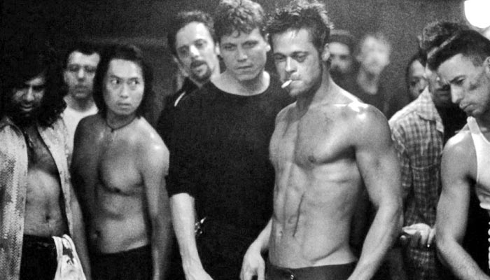 brad pitt fight club body. Brad Pitt Fight Club Workout