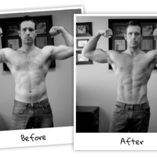 My Visual Impact Muscle Building & Cardio Results After 2 Months … To Inspire You To Get Fit