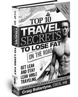 Top 10 Travel Secrets To Lose Fat