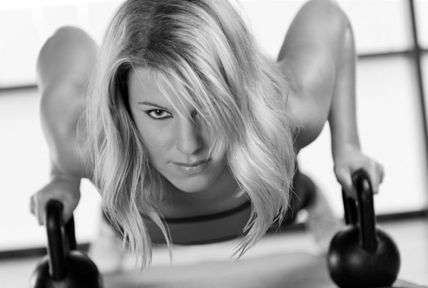 Woman Circuit Training